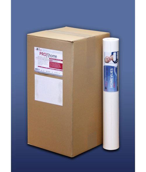 Revêtement à peindre blanc sans structure 120g Profhome HomeVlies 399-120 intissé lisse   12 rouleaux 64 m2