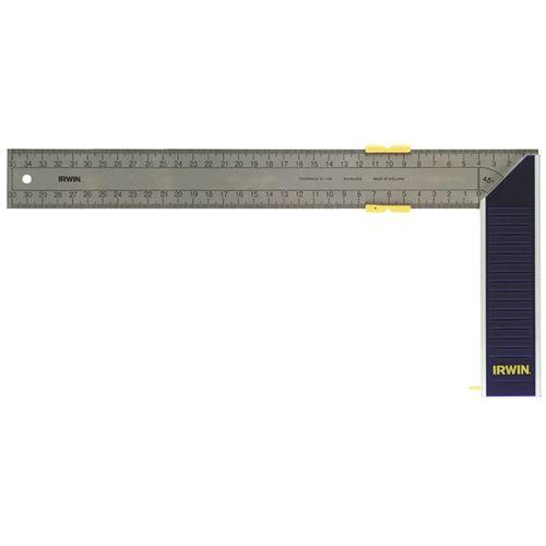 Equerre de menuisier à onglet en aluminium 350 mm de Irwin 10503545