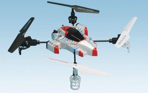 A SAISIR Quadrocoptere X4 BMI