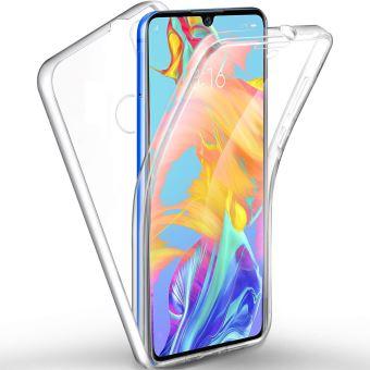 Huawei P30 LITE Coque 360 degrés Protection intégrale arrière PC Case et Avant TPU Transparente Smartphone - Accessoires Pochette Exceptional Case !