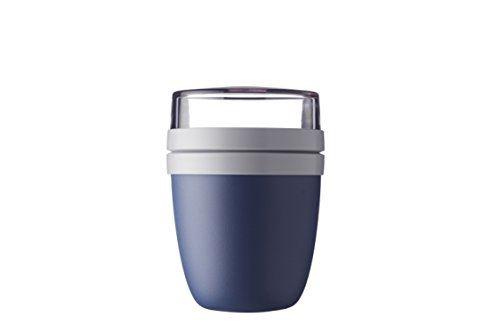 Rosti Mepal 107648016800 Lunch Pot, PP/Pctg, Nordic Denim, 11 x 11 x 15 cm