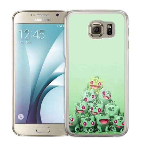 Coque pour Samsung Galaxy S7 Edge pokémon montagne bulbizarre