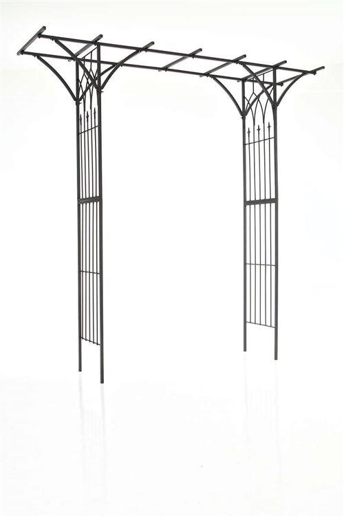 Arceau pour plantes grimpantes Milano en fer , Noir