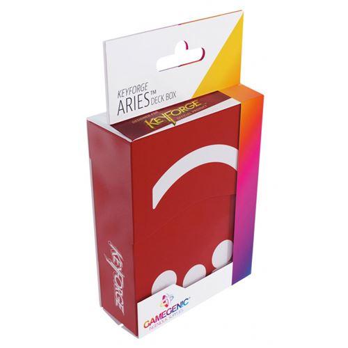 Keyforge - Deck Box Aries Rouge