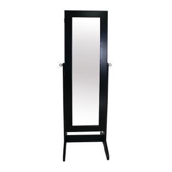 Todeco - Armoire à Bijoux avec Miroir, Miroir de Rangement ...