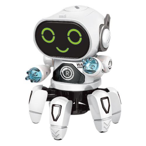 Robot danse électrique intelligent musique légère Jouets Best Boy Enfants cadeau Pealer7545