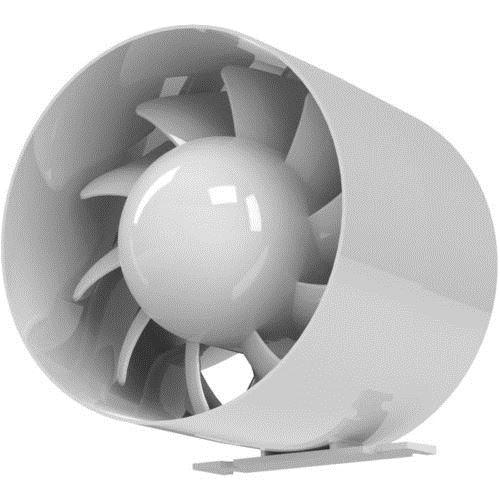 Qualité hotte système ventilation 150mm