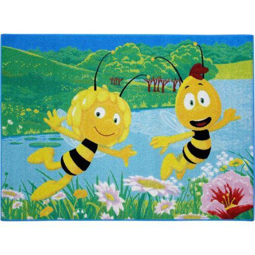 Tapis enfant Maya l'abeille - Terre de Nuit