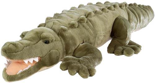 Peluche crocodile 76 cm - floppies - wild republic - 80742