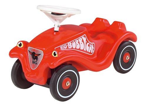 Porteur enfant bobby car rouge avec klaxon 58 x 30 x 38cm (lxlxh) - big nouveau modele - jouet 1er age des 12 mois