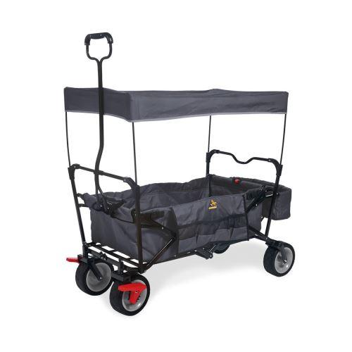 Wagon pliant Pinolino Paxi Dlx Comfort avec frein Anthracite