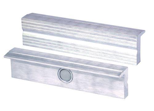 Étau Pâtisserie/Protection Pâtisserie | rechtwinkelig, parallèle, spécial intégré Aimants, convient pour étau 120 mm - Matériau : Aluminium