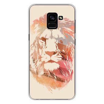 coque samsung a8 2018 lion
