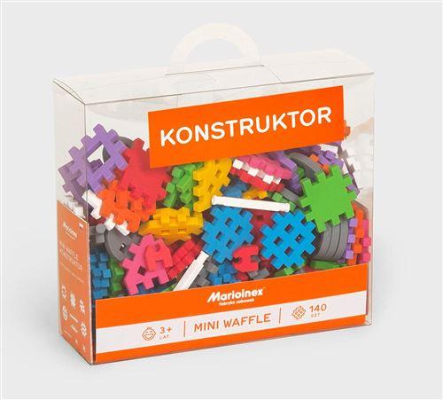 Marioinex 902363 Lot de 140 Mini gaufres Multicolore