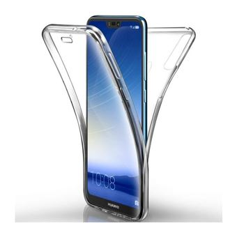 Huawei Mate 20 Lite, Coque Etui RIGIDE intégrale transparent 360 Anti choc