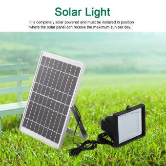 108 LEDs lumière lampe solaire pour le jardin maison signe de stationnement  entreprise signe