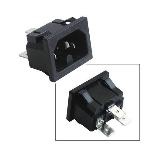 connecteur 3 cosses male sur chassis pour gaufrier lagrange