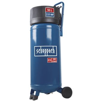 278e4b2f35c651 -8€86 sur Scheppach compresseur d air vertical 50 l 2cv 10 bars sans huile  hc51v - Compresseur d air - Achat   prix   fnac