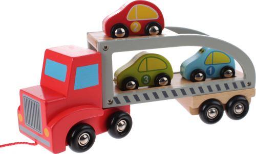 Jouéco transport en bois de voiture