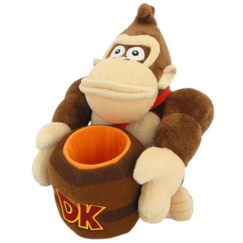 Étui pour accessoire de jouet rembourré (Donkey Kong) (importation du Japon)