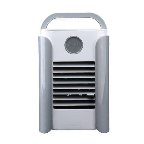 Ventilateur soutien FM BT SUB Haut-parleur Bluetooth portable Refroidisseur D'air gris