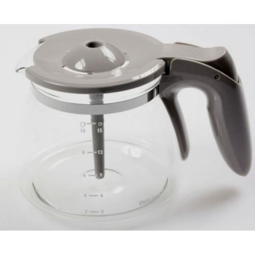 Verseuse gris aroma swirl pour cafetiere philips