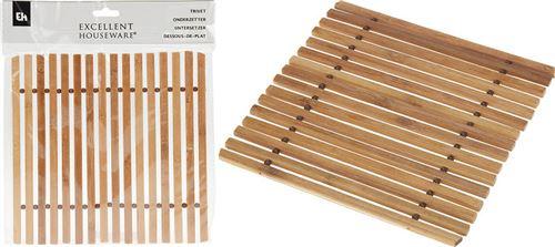Coaster en bambou 175x180mm