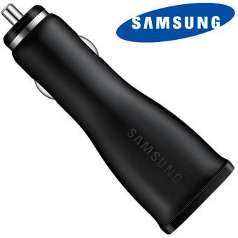 SAMSUNG FAST CAR CHARGER MICRO USB BLACK