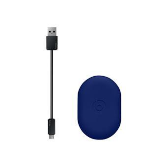 Beats Powerbeats3 - Beats Pop Collection - In-ear hoofdtelefoons met micro - inwendig - bevestiging over het oor - Bluetooth - draadloos - ruisisolatie - pop indigo - voor 10.5-inch iPad Pro; 9.7-inch iPad; 9.7-inch iPad Pro; iPhone X, XR, XS, XS Max