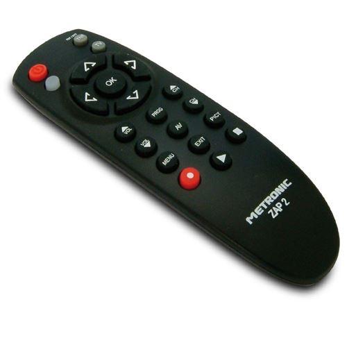 Télécommande tv et tnt zap 2