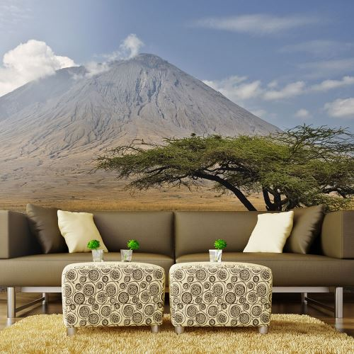 Papier peint - Volcan d'Afrique, Ol Doinyo Lengaï en Tanzanie