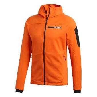 Veste à capuche TERREX Stockhorn Fleece 24 Rouge Vestes de