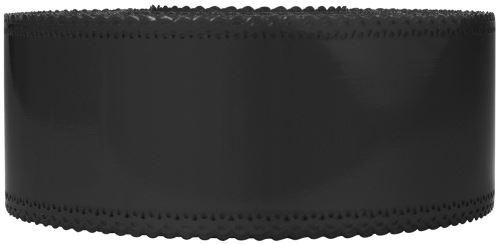 Ruban charlotte dentelle noir