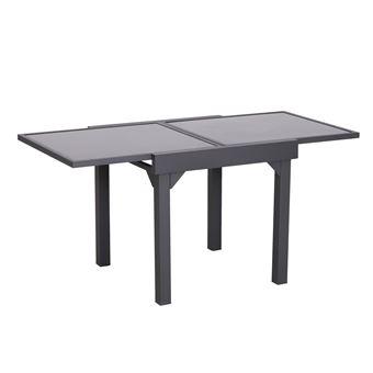 Table extensible de jardin grande taille dim. dépliées 160L x 80l x ...