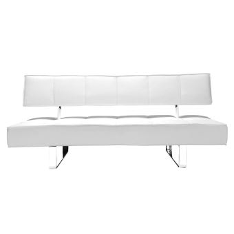canap convertible design blanc broadway achat prix fnac - Canape Blanc Design