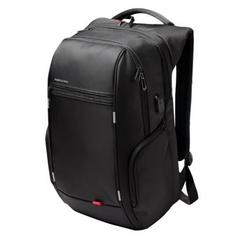 """size 7 official site differently Kingsons 15.6"""" luxe Notebook sac à dos noir voyage externe USB charge pour  homme"""