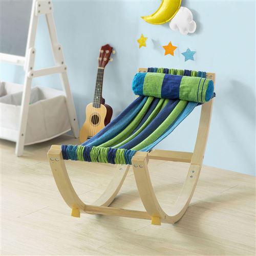 Lit Enfant Bébé Hamac Enfant Chaise Longue pour Enfant KMB16-J SoBuy®