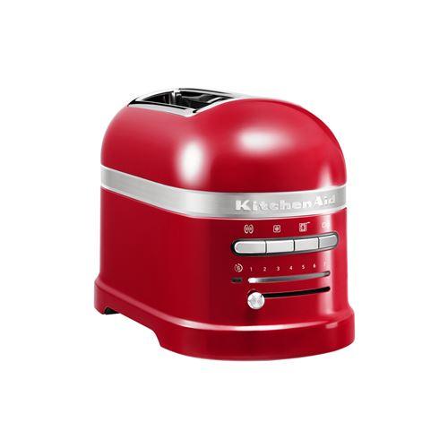 KitchenAid Artisan 5KMT2204EER - Grille-pain - 2 tranche - 2 Emplacements - rouge empire