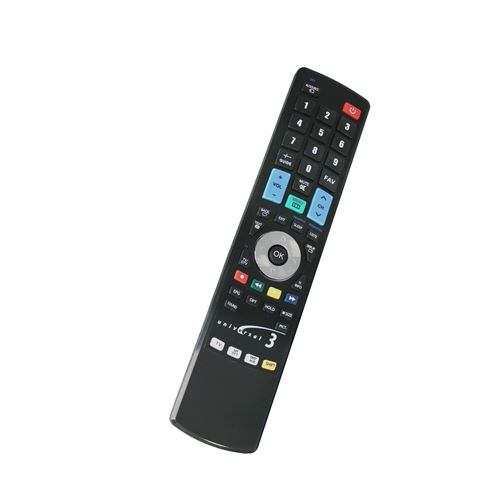 Télécommande TV universelle jusqu'à 3 appareils