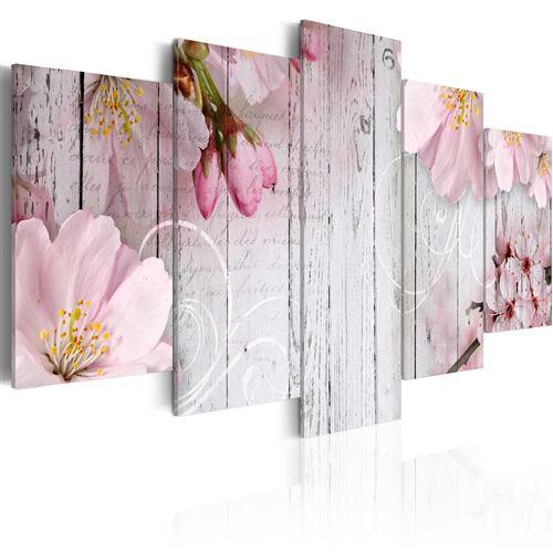 Tableau - Délicatesse florale - Artgeist - 200x100