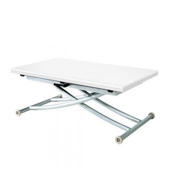 Basse Extensible PrixFnac Achatamp; Relevable Table First Blanc Laqué jGzSLVqpUM