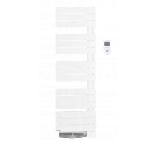 Radiateur sèche-serviettes Allure Digital avec soufflerie - 500+1000W - Version étroite - Brun sable