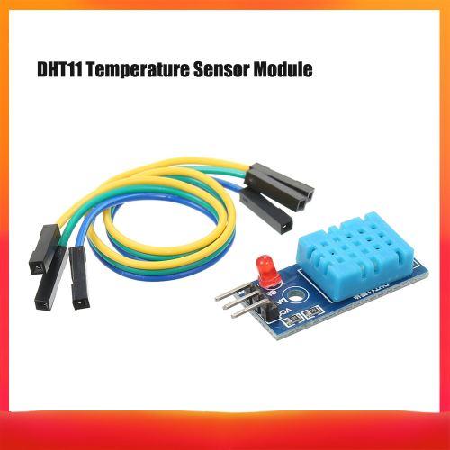 Fesjoy Module de capteur d'humidité de la température, module numérique DHT11 Module de capteur de température et d'humidité relative