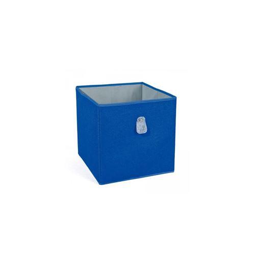 Cube de rangement - Bleu