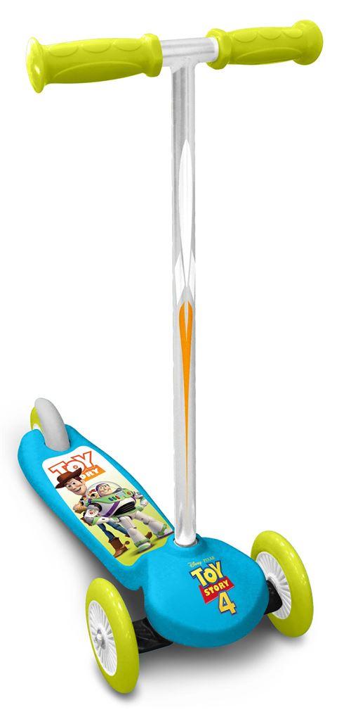 Disney Toy Story 3-wiel kinderstep Marchepied Pour Enfant Junior Frein à pied Bleu ciel