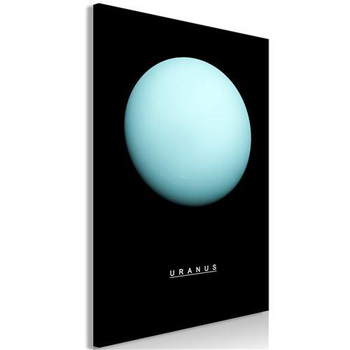 Tableau - Uranus (1 Part) Vertical - Décoration, image, art -