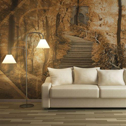 papier peint - stairs to paradise - artgeist - 400x309