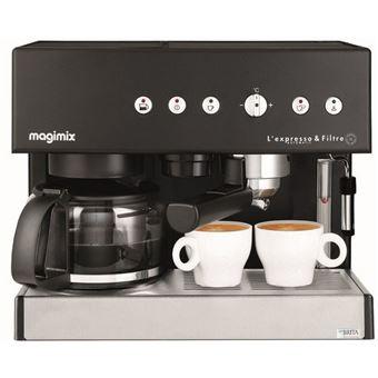 Magimix Expresso Combi Expresso Koffiemachine Zwart 11422