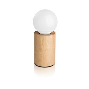Poser BoisRonde Led À Incluse Ampoule 3 W Lampe 10 ukPXOZi