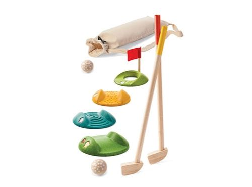 Mini golf double en bois Plan Toys